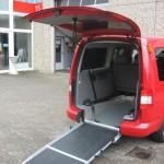 Auffahrrampe für Rollstühle in Fahrzeuge