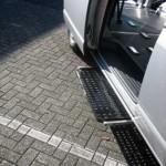 Trittstufen für Fahrzeuge erleichtern den Einstieg