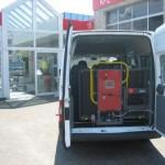 Ermöglicht einen komfortablen und sicheren Rollstuhltransport