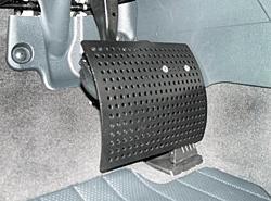 Pedalabdeckung Gas und Bremse
