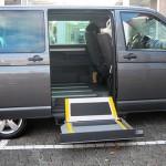 Der ultraflache Kassettenlift für die Seitentür