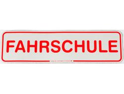 Fahrschule Magnetschild