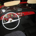 Auto Union 1000SP Innenraumansicht