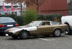 Maserati Khamsin in bronze braun