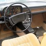 Die Audi 100 Coupè S Innenraumansicht