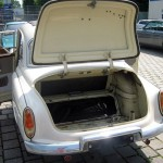 Kofferraum des Wartburg 311
