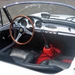Cabrio Giulietta Spider, das von Pininfarina gebaut wurde